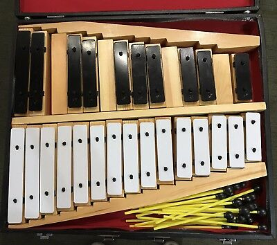 Percussion Plus Pp931 25 Note Chime Bar Set, B Stock