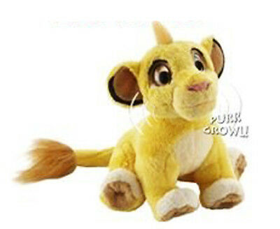 """Disney Lion King Simba Purr and Growl Electronic Plush Toy 6"""" Ages 3 Years+"""