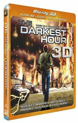 Blu Ray 3D + 2D + DVD : The darkest hour 3D + Version 2D - NEUF
