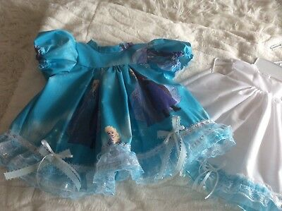 reborn dress  with a petticoat