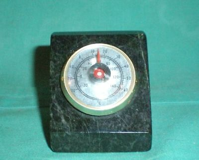 1960er Tischthermometer/1960s air thermometer on onyx/Vintage/retro