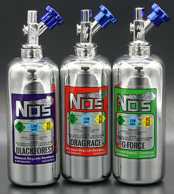 NOS E-Liquid - 50ml - Overdosed - Blackforest - Drag Race - G-Force - 0mg - 3mg