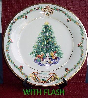 LENOX Christmas Trees Around the World Norway Plate, 2007 Limited Edition