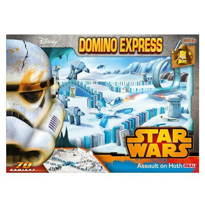 Star Wars Domino Express Assault on Hoth, Fun Family Kids Party Board Game 70pcs