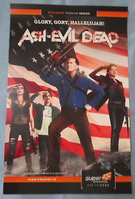 Ash VS Evil Dead TV Show Promo Poster Fan Expo Comic Con 2017
