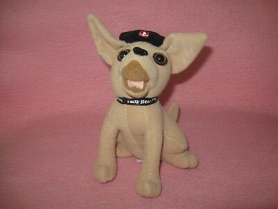 Taco Bell Chihuahua Dog with Hat Plush Yo Quiero Taco Bell