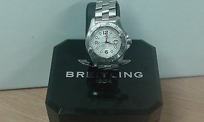 BREITLING Superocean Steelfish Automatic Watch Ref A17390 **Excellent Cond**