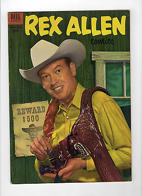 Rex Allen #8 (Mar-May 1953, Dell) - Very Good+