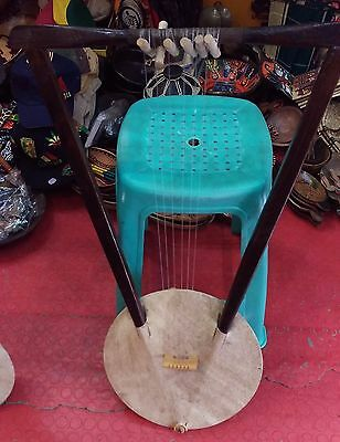 Ethiopian Traditional String Music Instrument, kerare. Free Shipping Worldwide