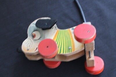 vintage Fisher Price dog pull toy