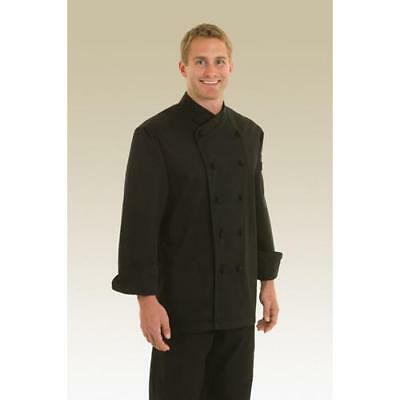 Chef Works Montpellier Chef Coat Jacket - Black - All Sizes