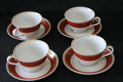 vintage 4 Occupied Japan teacups and saucers Made in Japan