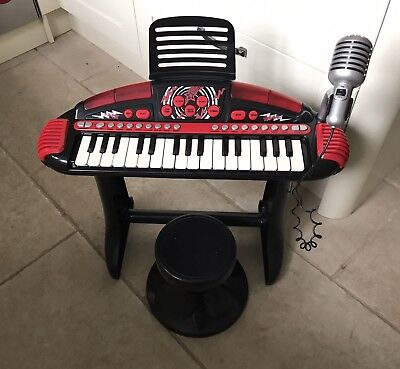 Early Learning Centre Elc Red Keyboard Piano With