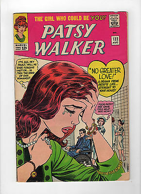 Patsy Walker #122 (Aug 1965, Marvel) - Good-