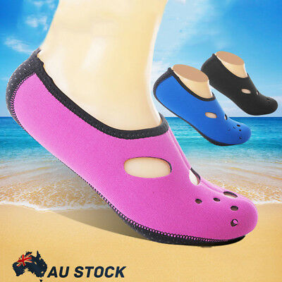 Unisex Water Shoes Aqua Sock Yoga Exercise Pool Beach Dance Swim Slip On Surf