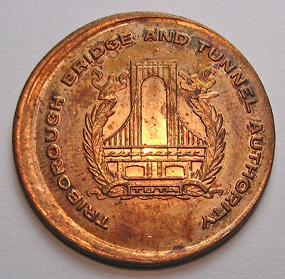 Tbta (Nyc) Bridge Token Uncentered Broadstrike Unc Rb Sm Scr- See Other Auctions