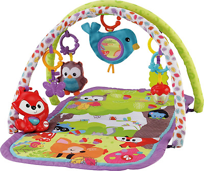 Fisher Price 3 in 1 Musical Activity Gym Baby Play Mat Child Kids Toy Soft Floor