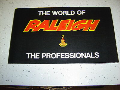 1 Raleigh genuine NOS 1980 Bicycles Sales program Poster.