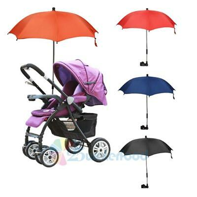 Baby Stroller Wheelchair Pushchair Umbrella Sun Shade Parasol Rain Canopy Cover