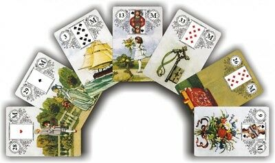 The Lenormand Fortune-telling Cards a deck of 36 cards