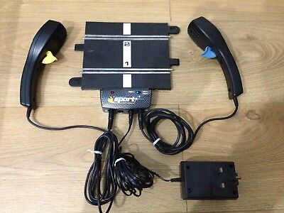 Hornby Scalextric Sport Power Base C8217 - Transformer C912 & 2 X Controllers
