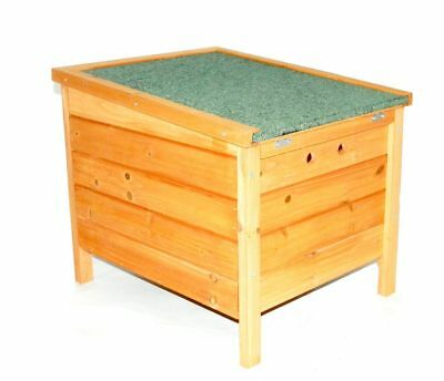 Small Dog Kennel House Wooden Pet Dog Cat Shelter Outdoor Patio Garden New
