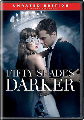Fifty Shades Darker DVD SHIPS WITHIN 1 BUSINESS DAY WITH TRACKING!