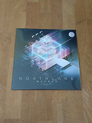 Northlane Mesmer Vinyl Ultra Clear/Pink/Blue+Sticker+Bottle Opener+Plektrum