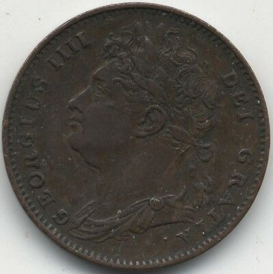 1822 George IV Farthing***Collectors***