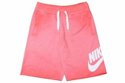 Nike Mens French Terry Alumni Solstice Shorts 871762 696 Size M; L; XL