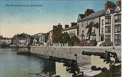 The Front & Guns, ABERDOVEY, Merionethshire