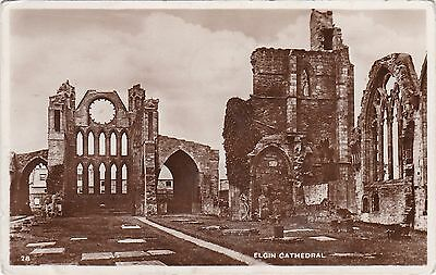 The Cathedral, ELGIN, Morayshire RP