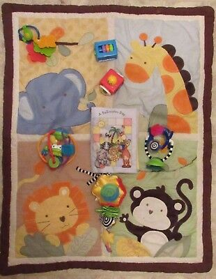 Reborn baby doll Nursery Play set Baby Blanket Book Highchair & crib toy + more