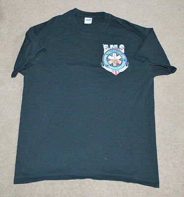 FDNY Technical Services EMS Shirt NYC New York Fire Large
