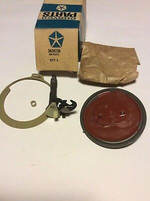 Nos Mopar Wiper Switch Plate Red 69 70 71 A, B, C, E 3 Speed Early Correct