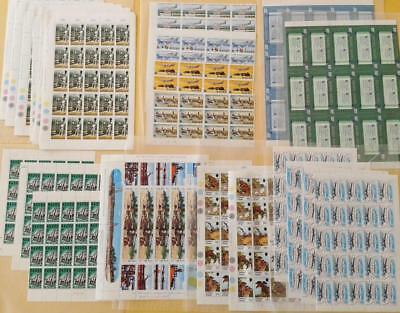 COLLECTION OF BRITISH COMMONWEALTH MINT STAMP SHEETS - MIXED LOT plus extras