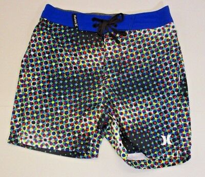 Hurley Surf Infant Boys Mutli Colored Boardshorts Swimsuit 18-24Mth