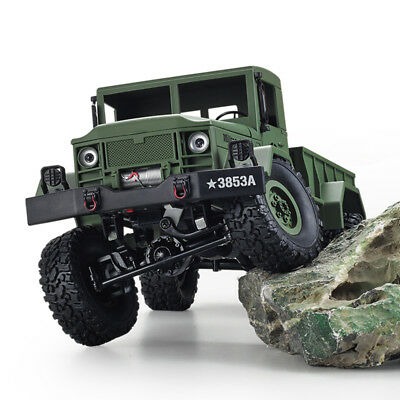 HengLong 1/16 4*4 High-Imitation RC U.S. Military Truck RTR Off-road Crawler Toy