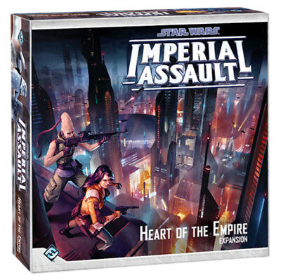Star Wars Imperial Assault Heart of the Empire Expansion Board Game NEW