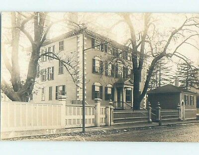 Pre-1949 rppc MOFFAT WHIPPLE LADD HOUSE Portsmouth New Hampshire NH HM3327