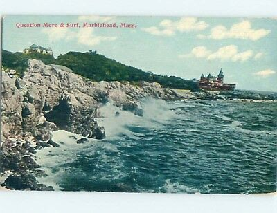 Divided-Back POSTCARD FROM Marblehead Massachusetts MA HM7778