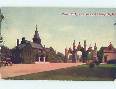 Divided-Back POSTCARD FROM Indianapolis Indiana IN HM7475