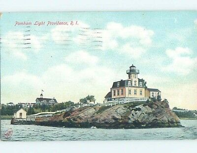 Damaged Divided-Back POSTCARD FROM Providence Rhode Island RI HM7995
