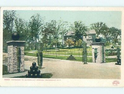 Divided-Back POSTCARD FROM Watervliet New York NY HM6840