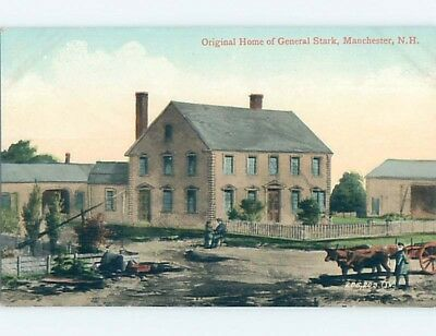 Divided-Back POSTCARD FROM Manchester New Hampshire NH HM7763