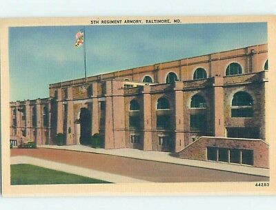 Unused Linen ARMORY Baltimore Maryland MD HM9287
