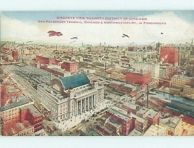 Unused Divided-Back POSTCARD FROM Chicago Illinois IL HM5560