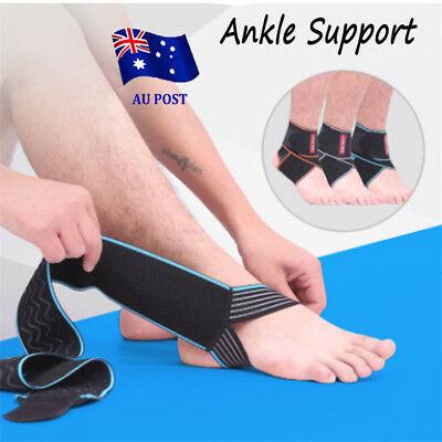 Ankle Sprains Strains Support Brace Stabilizer Straps Foot guard Splint EA