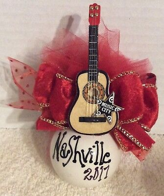 Nashville Christmas Ornament For Your Personal Christmas Tree Or To Give Away