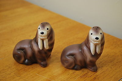 Walrus  Salt & Pepper Shakers - NICE!!!
